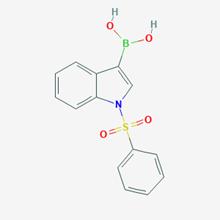 Picture of (1-(Phenylsulfonyl)-1H-indol-3-yl)boronic acid