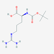 Picture of (S)-2-((tert-Butoxycarbonyl)amino)-5-guanidinopentanoic acid
