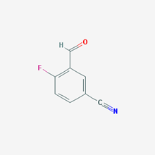 Picture of 4-Fluoro-3-formylbenzonitrile