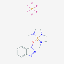 Picture of  Benzotriazol-1-yloxy)tris(dimethylamino)phosphonium hexafluorophosphate;BOP
