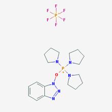 Picture of Benzotriazole-1-yl-oxytripyrrolidinophosphonium hexafluorophosphate