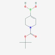 Picture of (1-(tert-Butoxycarbonyl)-1,2,3,6-tetrahydropyridin-4-yl)boronic acid