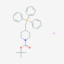 Picture of ((1-(tert-Butoxycarbonyl)piperidin-4-yl)methyl)triphenylphosphonium iodide
