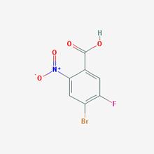 Picture of 2-nitro-4-Bromo-5-fluorobenzoic acid
