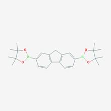 Picture of  2,2-(9H-fluorene-2,6-diyl)bis(4,4,5,5-tetramethyl-1,3,2-dioxaborolane)